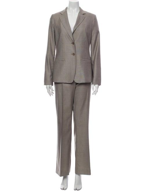 Max Mara Virgin Wool Pantsuit Wool
