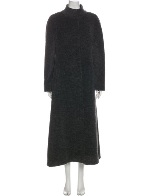 Max Mara Alpaca Coat Grey