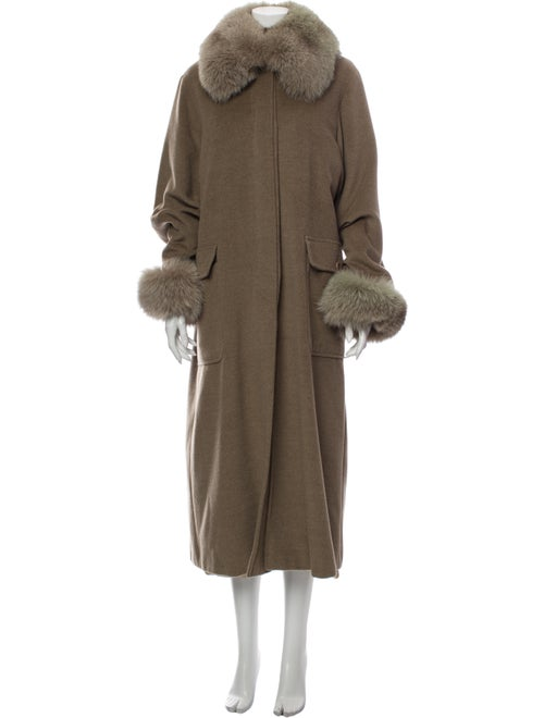 Max Mara Virgin Wool Coat Wool - image 1