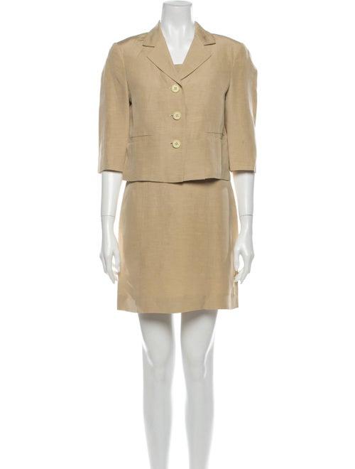 Max Mara Linen Dress Set