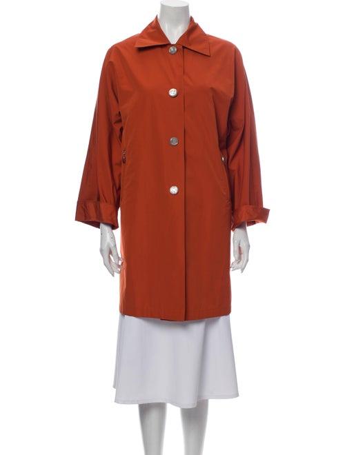 Max Mara Trench Coat Orange