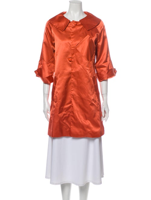 Max Mara Coat Orange