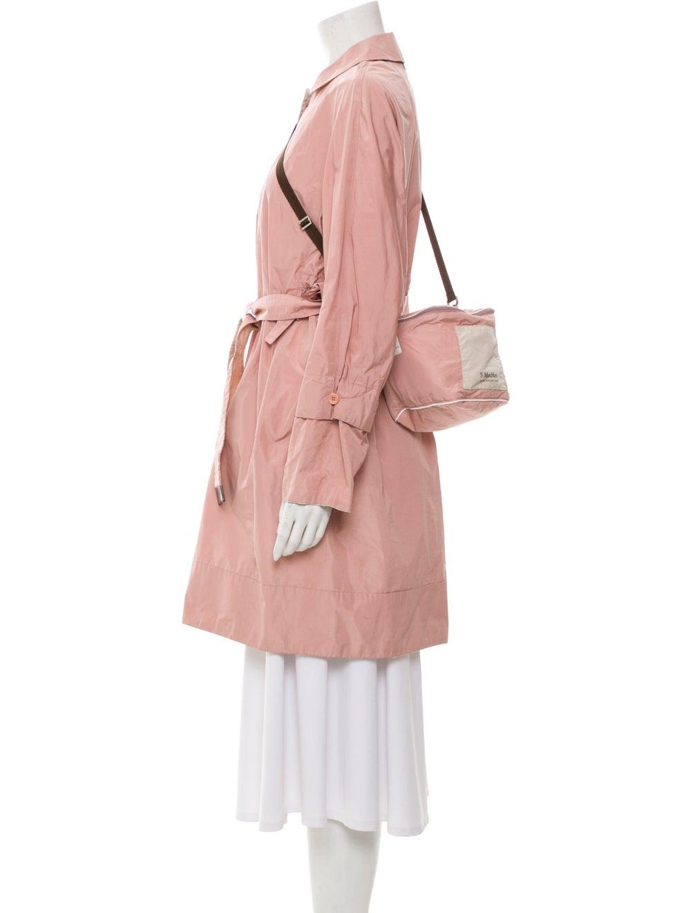 Max Mara Trench Coat Pink - image 2