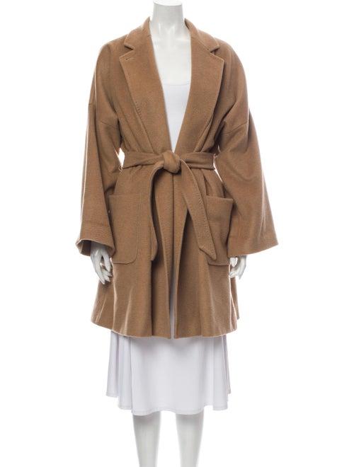 Max Mara Camel Hair Trench Coat