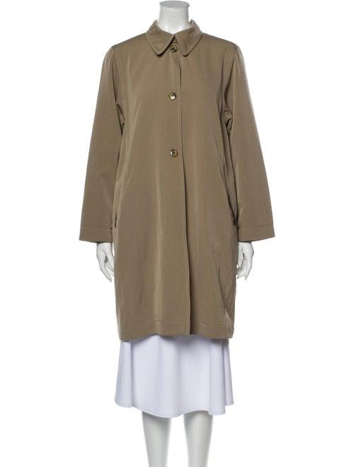 Max Mara Wool Trench Coat Wool