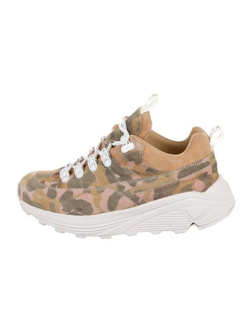 Diemme Suede Low-Top Sneakers Pink