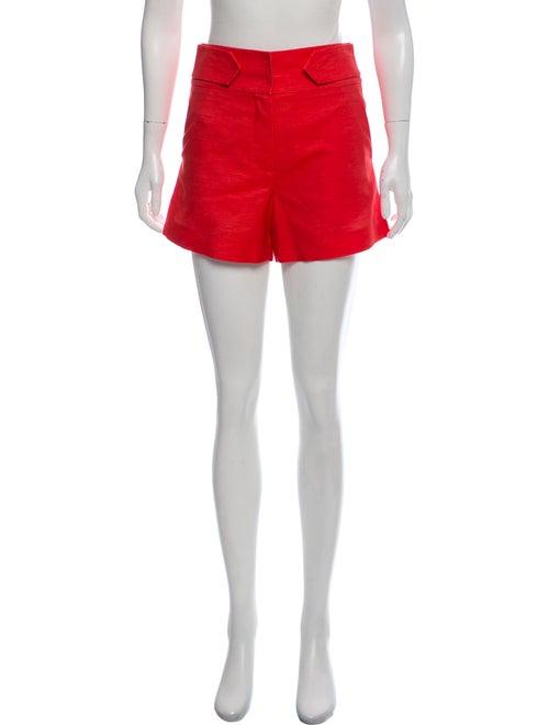 Marina Moscone High-Rise Tailored Shorts w/ Tags O