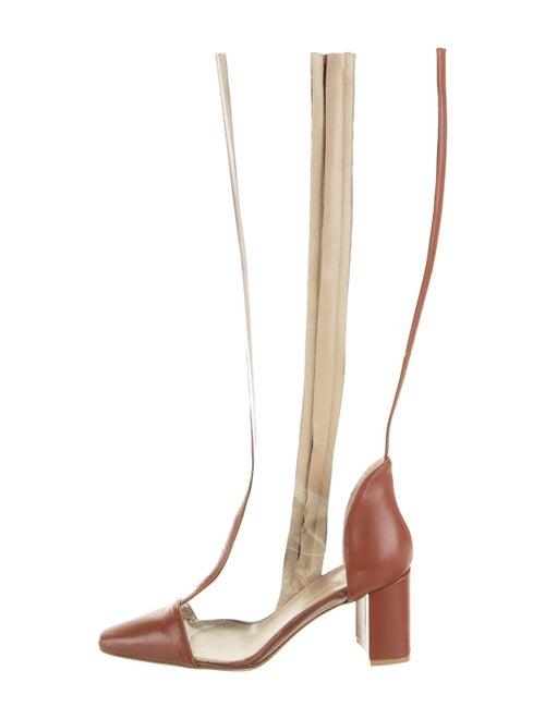 Maryam Nassir Zadeh Jupiter PVC Boots Clear