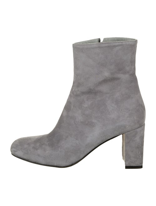 Maryam Nassir Zadeh Agnes Suede Ankle Boots Grey