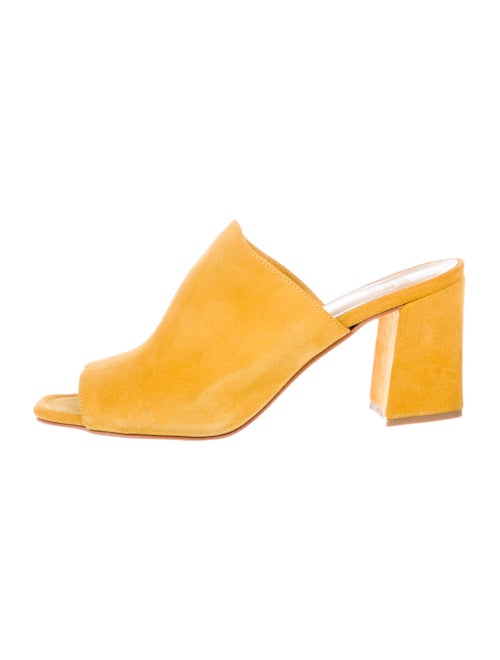 Maryam Nassir Zadeh Suede Slide Sandals
