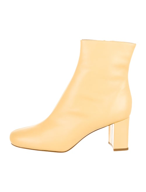 Maryam Nassir Zadeh Leather Round-Toe Boots w/ Tag