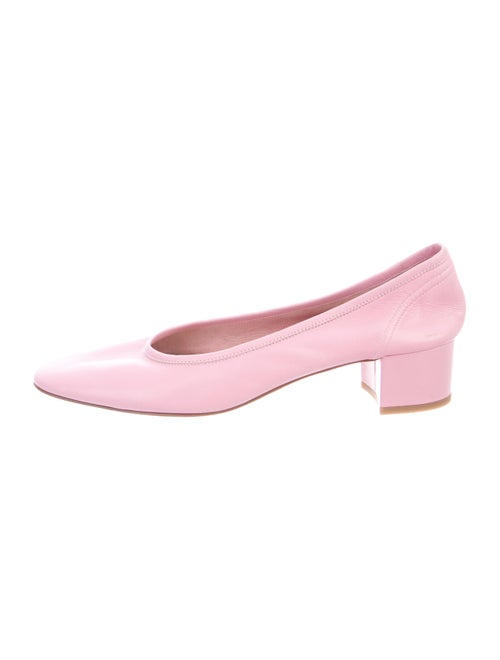 Maryam Nassir Zadeh Leather Pumps Pink