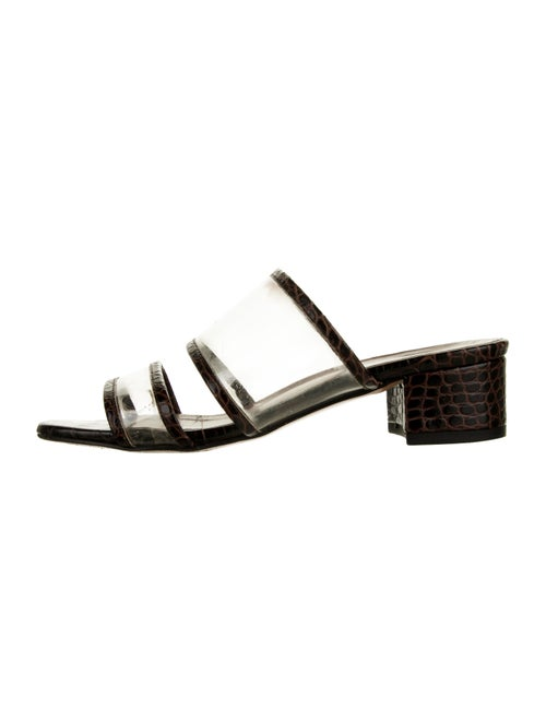 Maryam Nassir Zadeh Embossed Leather Sandals