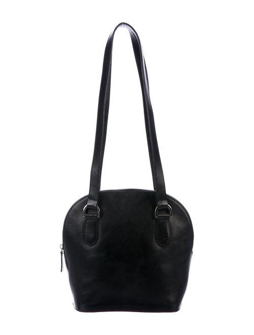 Maryam Nassir Zadeh Leather Shoulder Bag Black