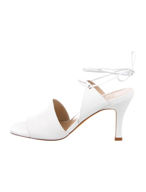 Maryam Nassir Zadeh Leather Sandals White