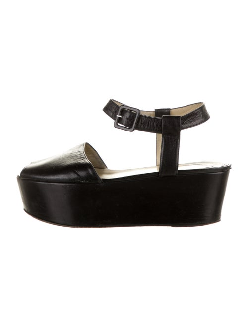 Maryam Nassir Zadeh Leather Sandals Black