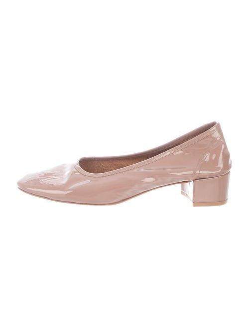 Maryam Nassir Zadeh Patent Leather Pumps
