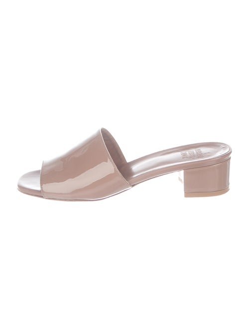 Maryam Nassir Zadeh Patent Leather Slides