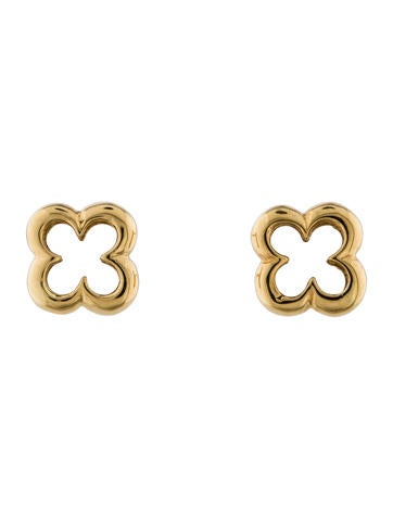 Mouawad Clover Stud Earrings