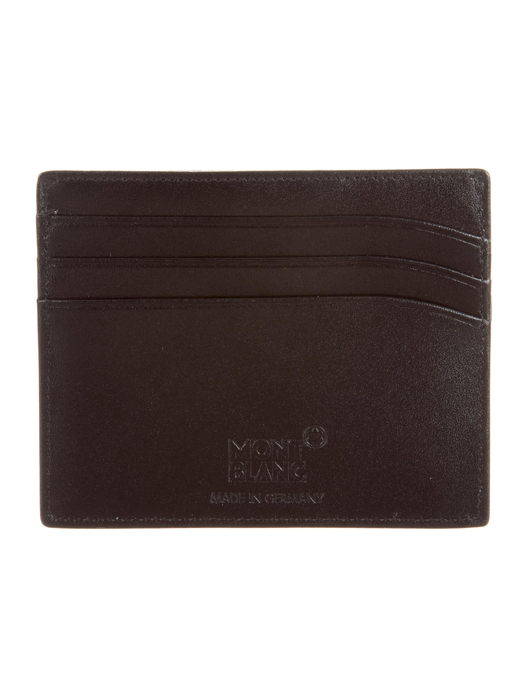 Mont Blanc Meisterst252ck Leather Card Holder Accessories  : MOB203223enlarged from www.therealreal.com size 1753 x 2313 jpeg 286kB