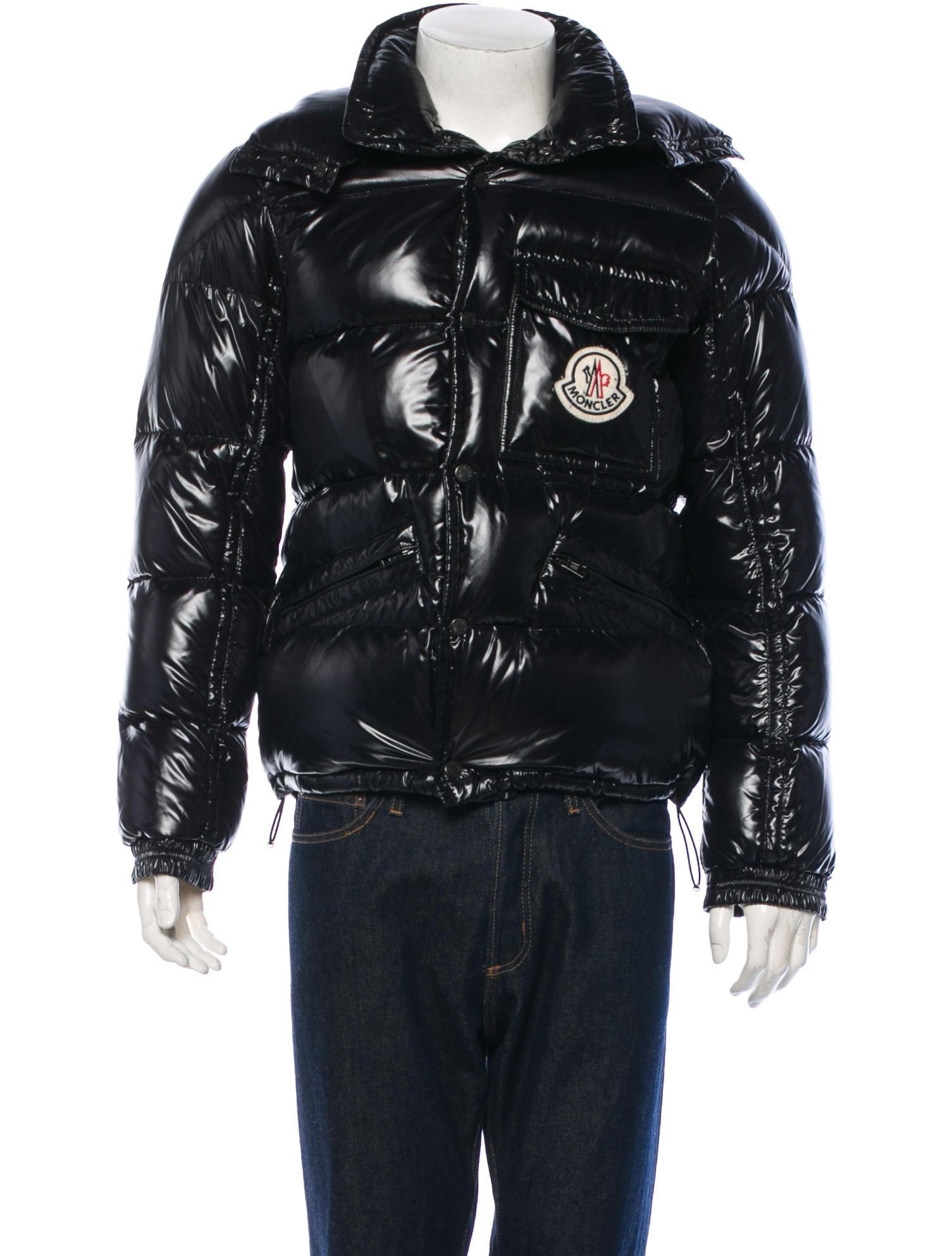 moncler k2 black down jacket
