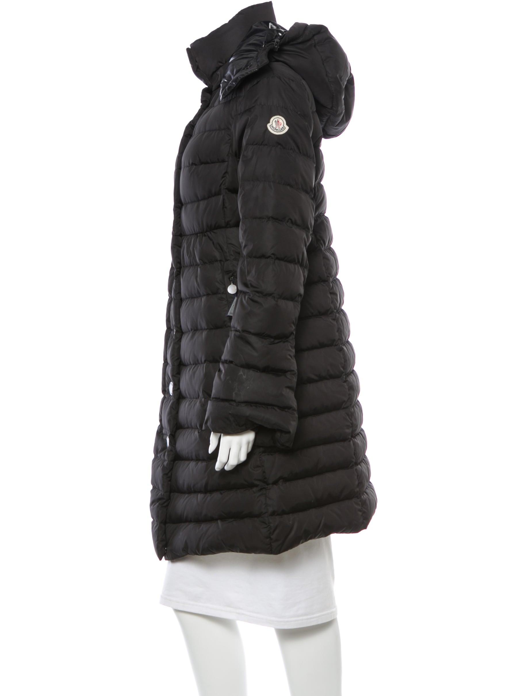 Moncler Black Jura Hooded Down Coat
