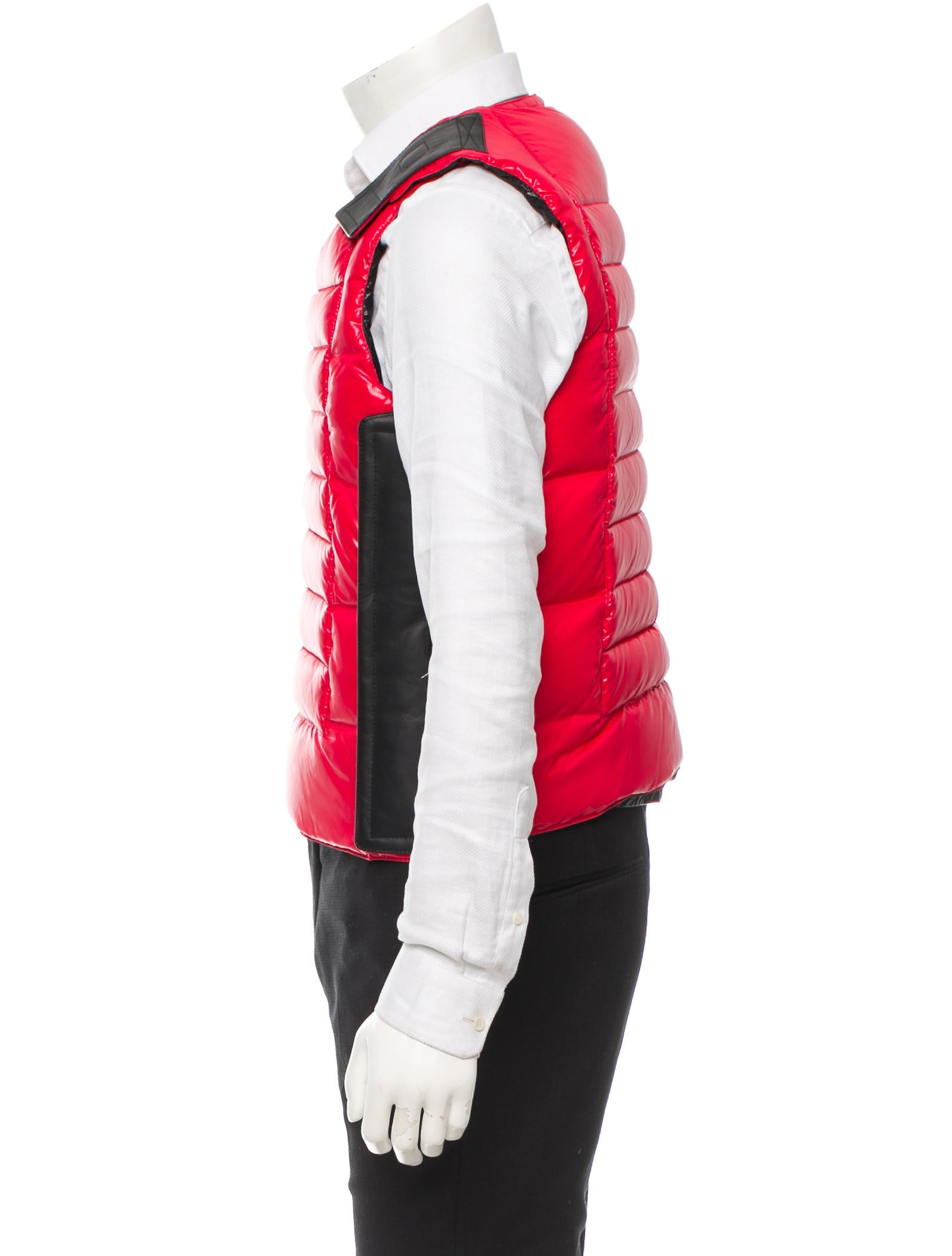 moncler bullet proof vest yellow