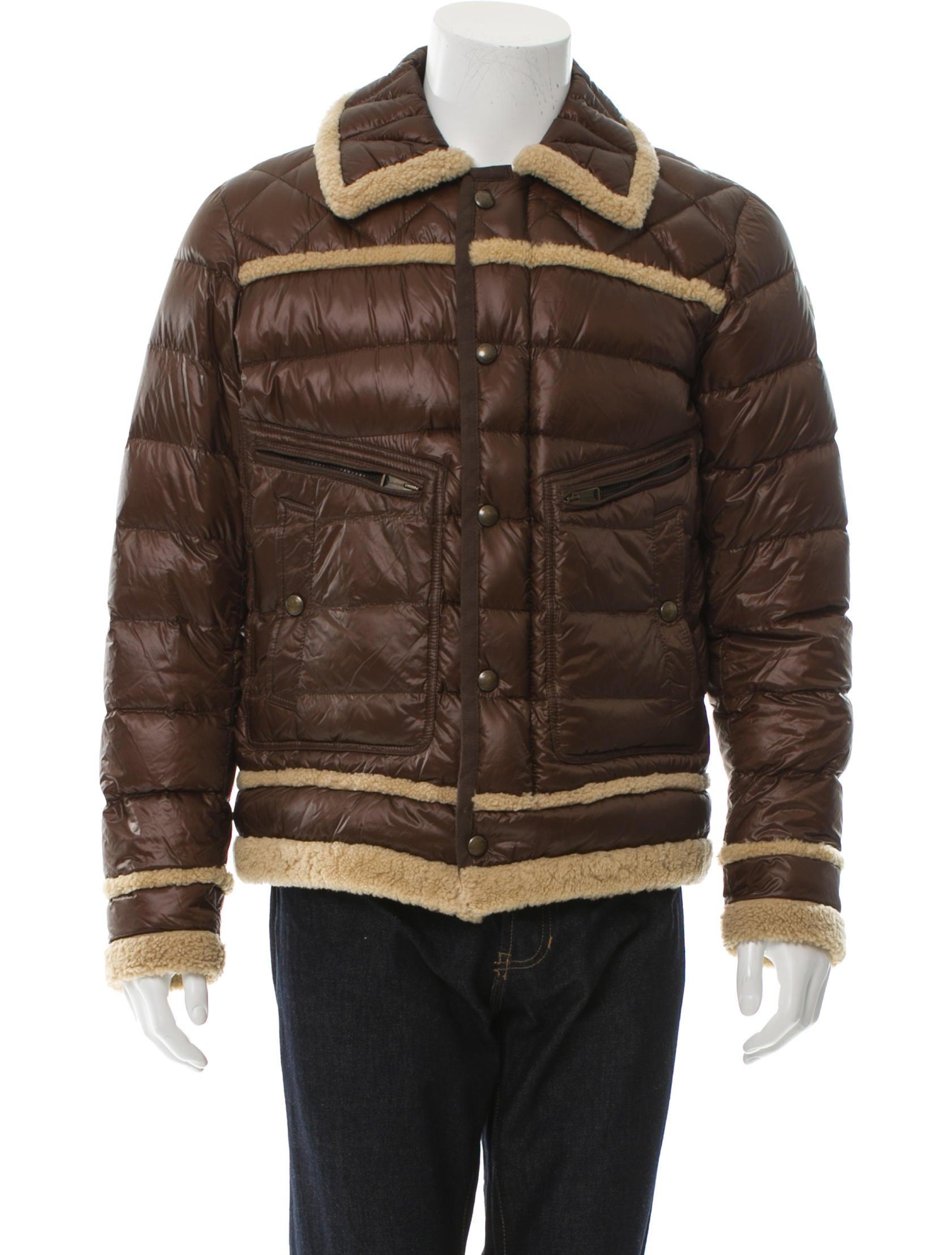 Evariste Shearling-Trimmed Jacket