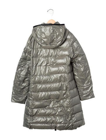 Girls' Hooded Puffer Coat