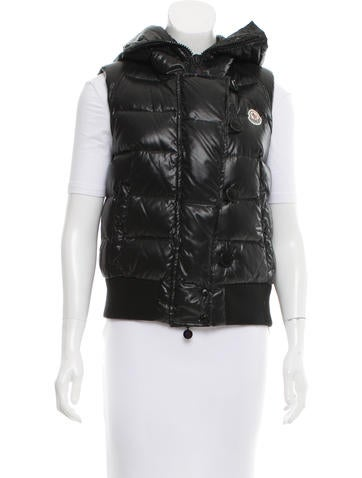 Moncler Tarn Down Vest None