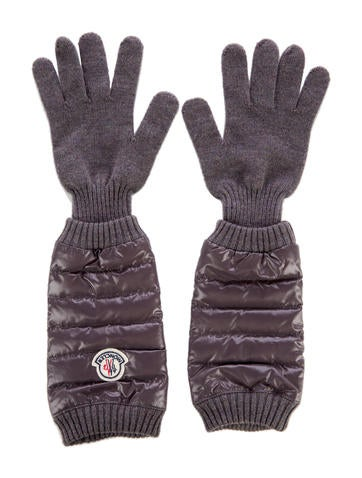Moncler Wool Down Gloves None