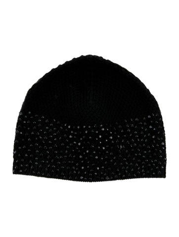 Moncler Embellished Wool Beanie None