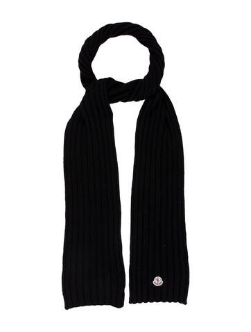 Moncler Sciarpa Wool Scarf w/ Tags None