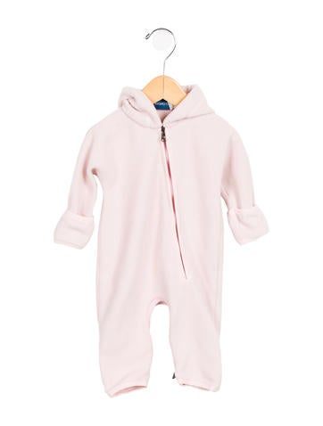 Moncler Girls'  Fleece Hooded All-In-One