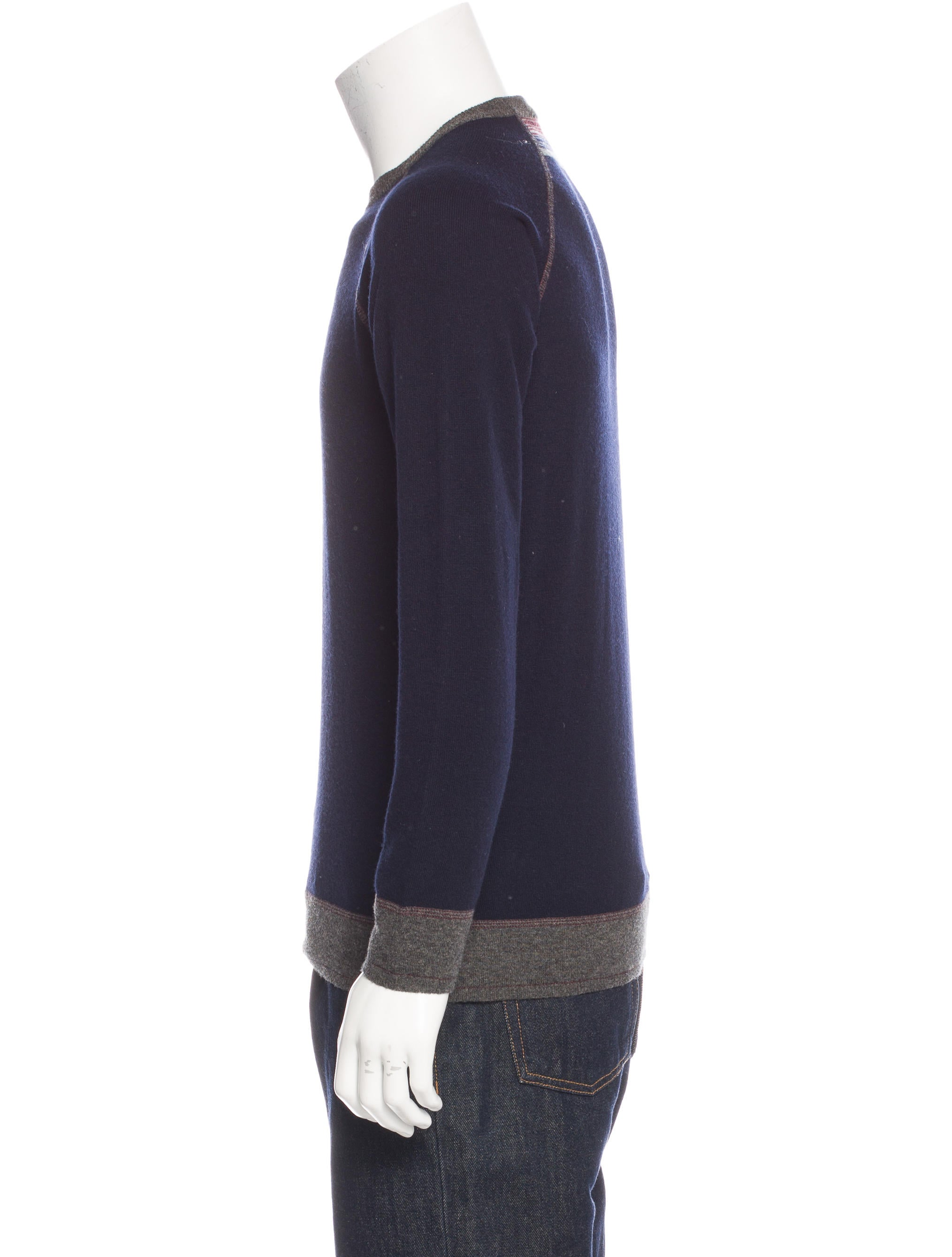 Wool Sweater Crew Neck 111