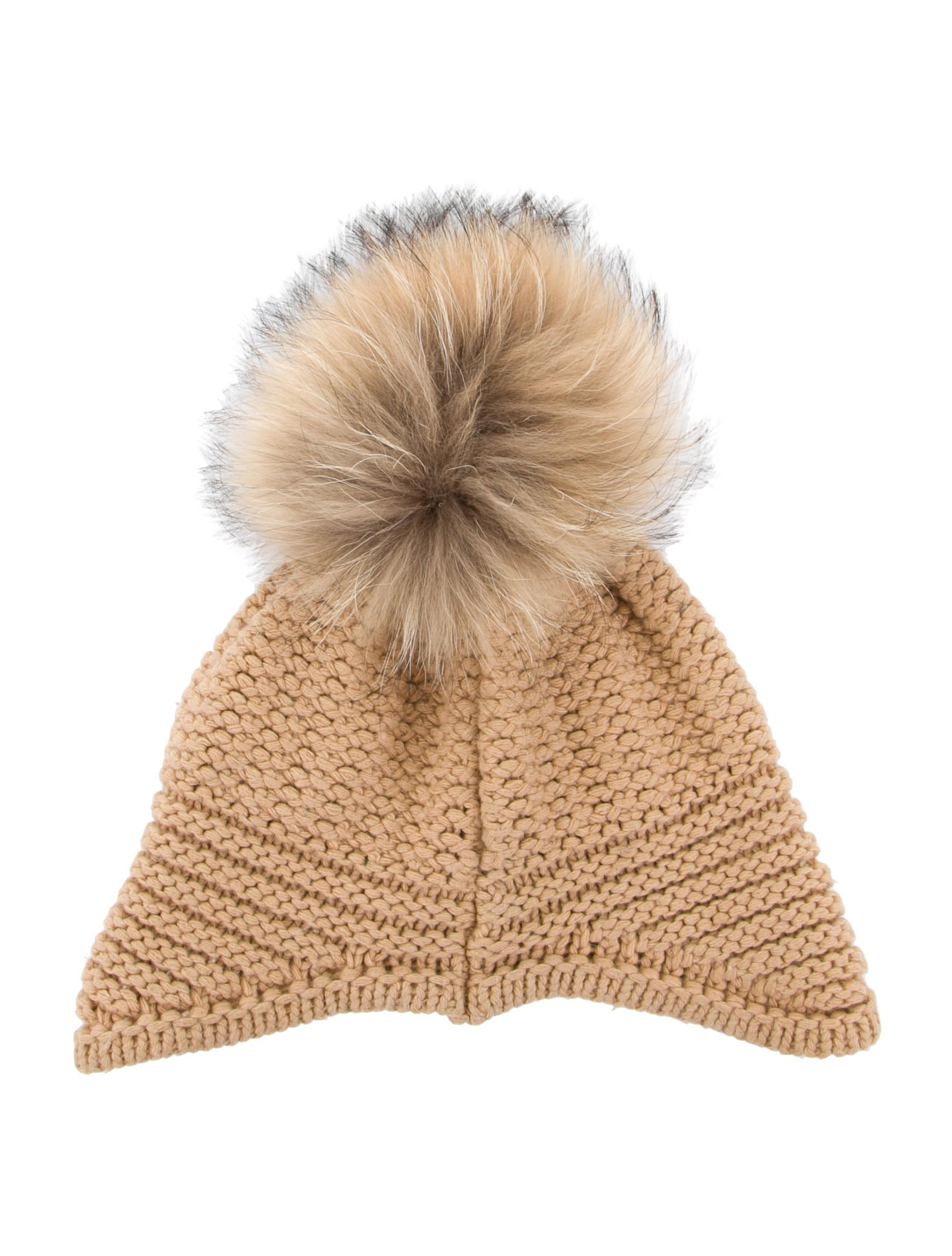 Pom Pom Beanie Knitting Pattern : Moncler Knit Pom-Pom Beanie - Accessories - MOC24773 The RealReal