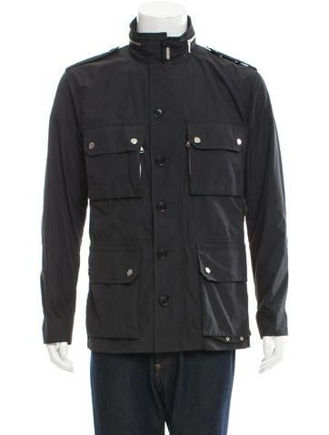 Moncler Zip-Up Utility Jacket None