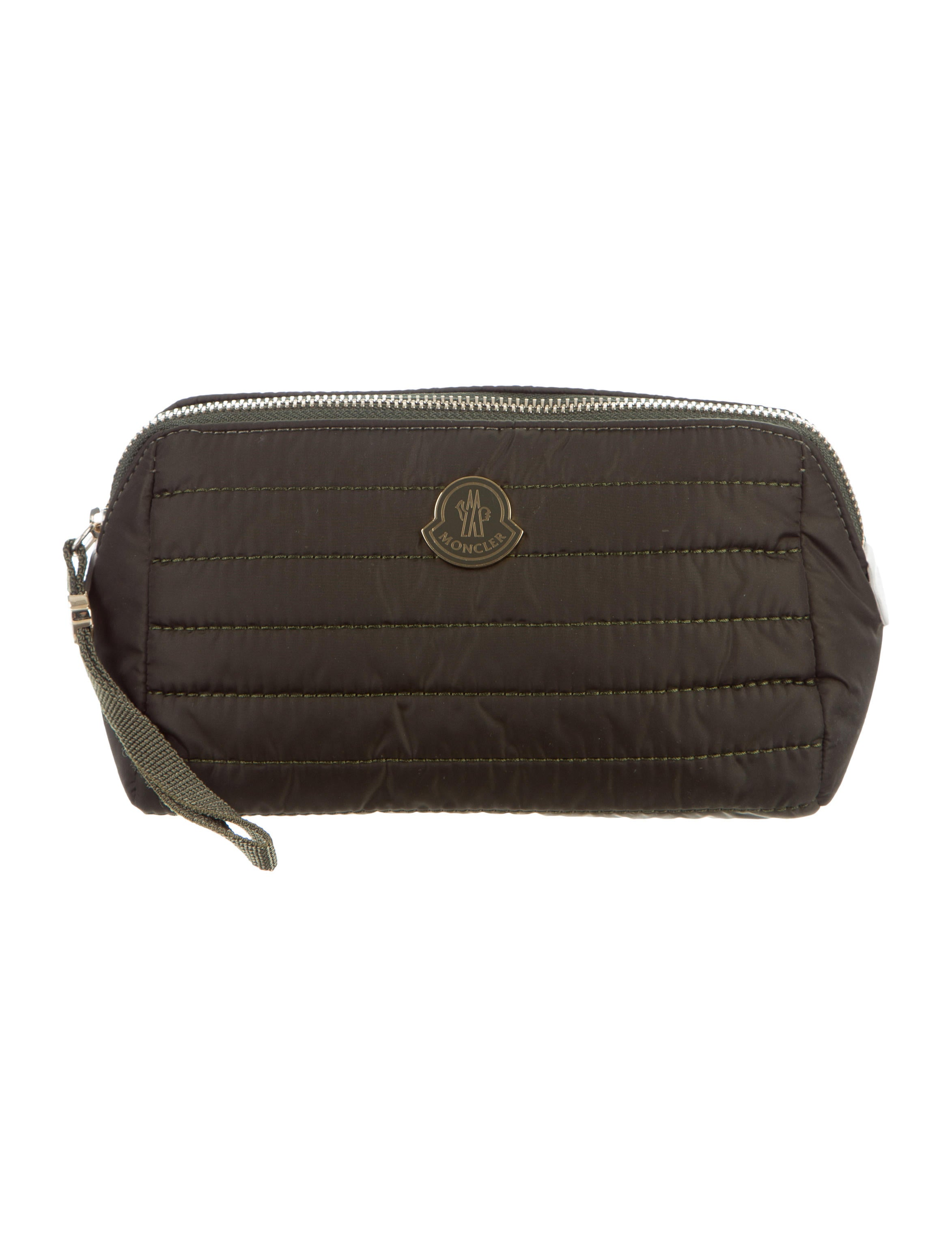 Moncler Quilted Nylon Cosmetic Bag w  Tags - Accessories - MOC25016 ... 7e2da7592132c