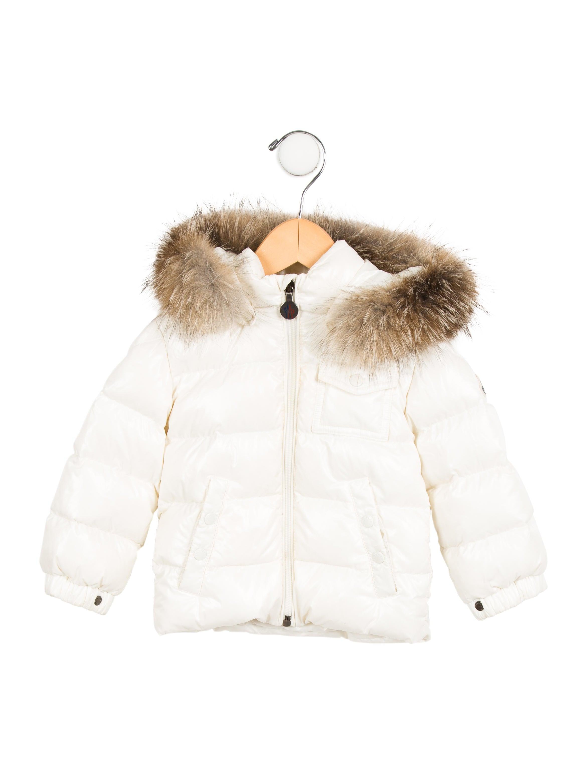 Girls' K2 Fox Fur-Trimmed Jacket