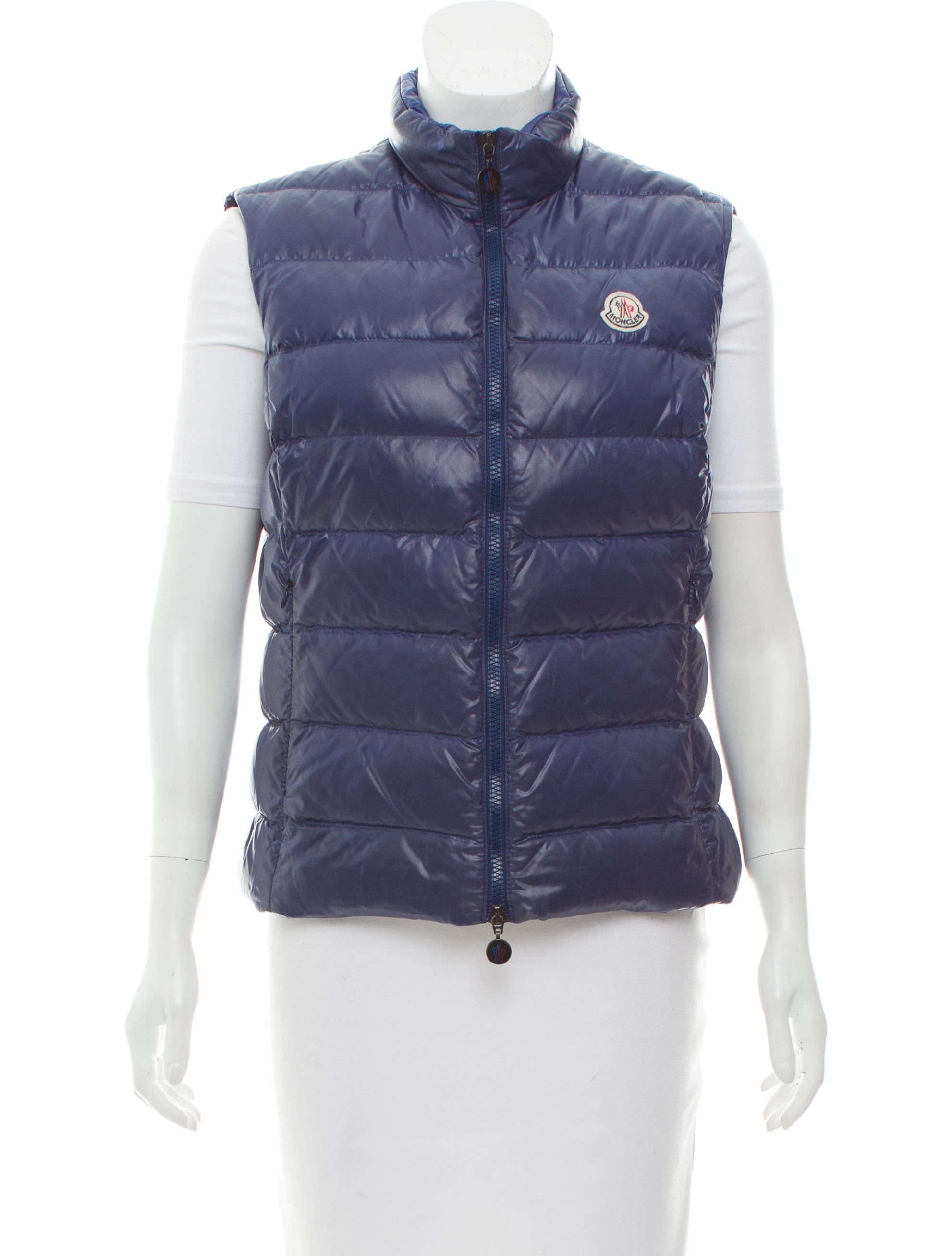 moncler ghany down vest clothing moc26618 the realreal rh therealreal com