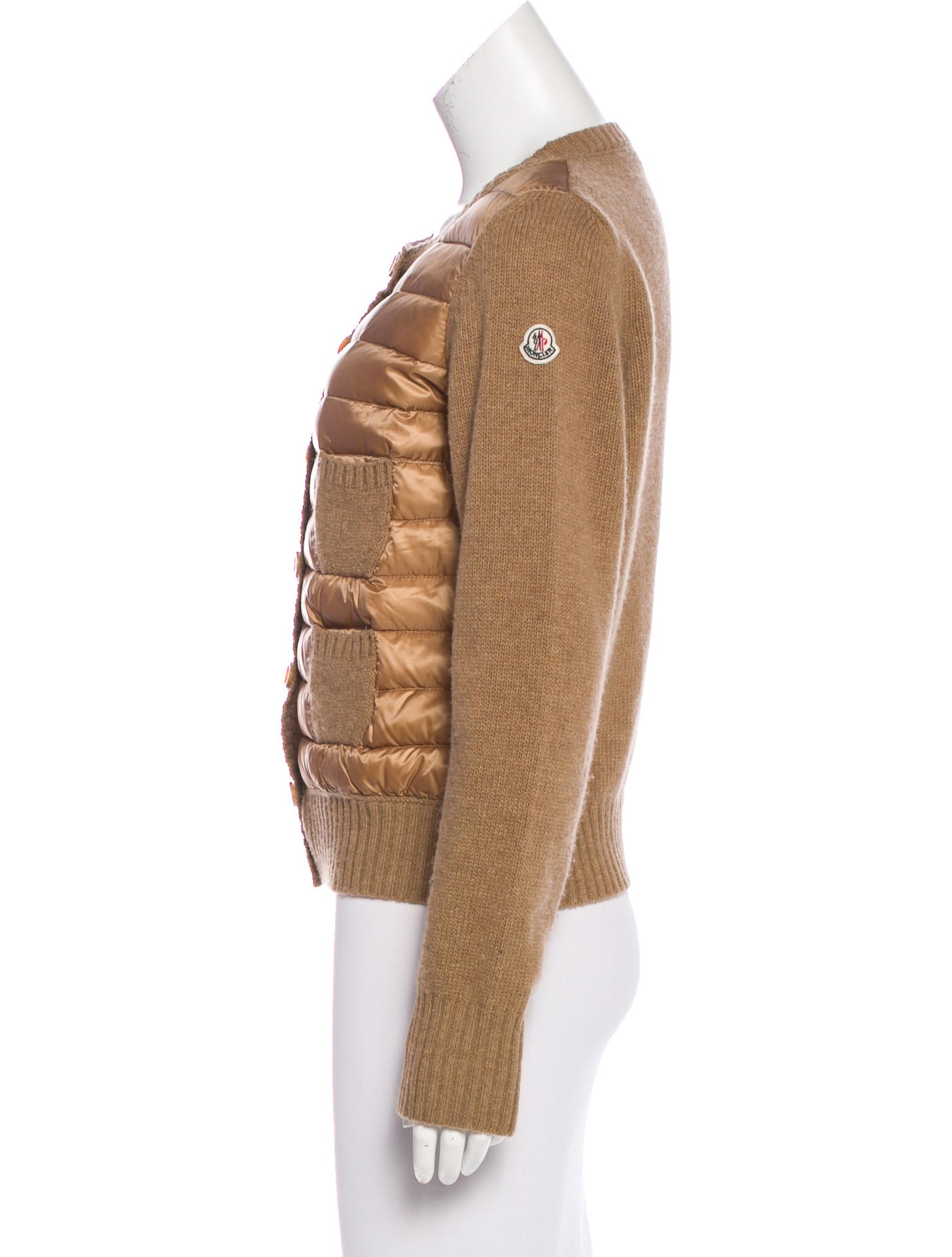 Moncler Wool Quilted Jacket Clothing Moc26797 The
