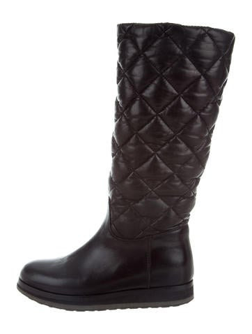 discount excellent Moncler Quilted Mid-Calf Boots discount looking for cheap sale with credit card store online 2yON6xEMsI