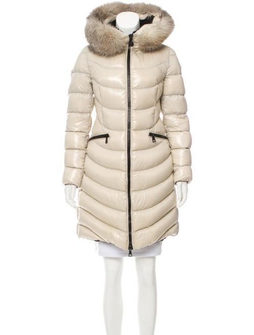 2f4921dfa Moncler Fur-Trimmed Aphia Coat - Clothing - MOC27398 | The RealReal