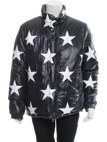 Product Name:Moncler x Thom Browne 2016 USA Flag 10 Reversible Puffer Jacket w/ Tags