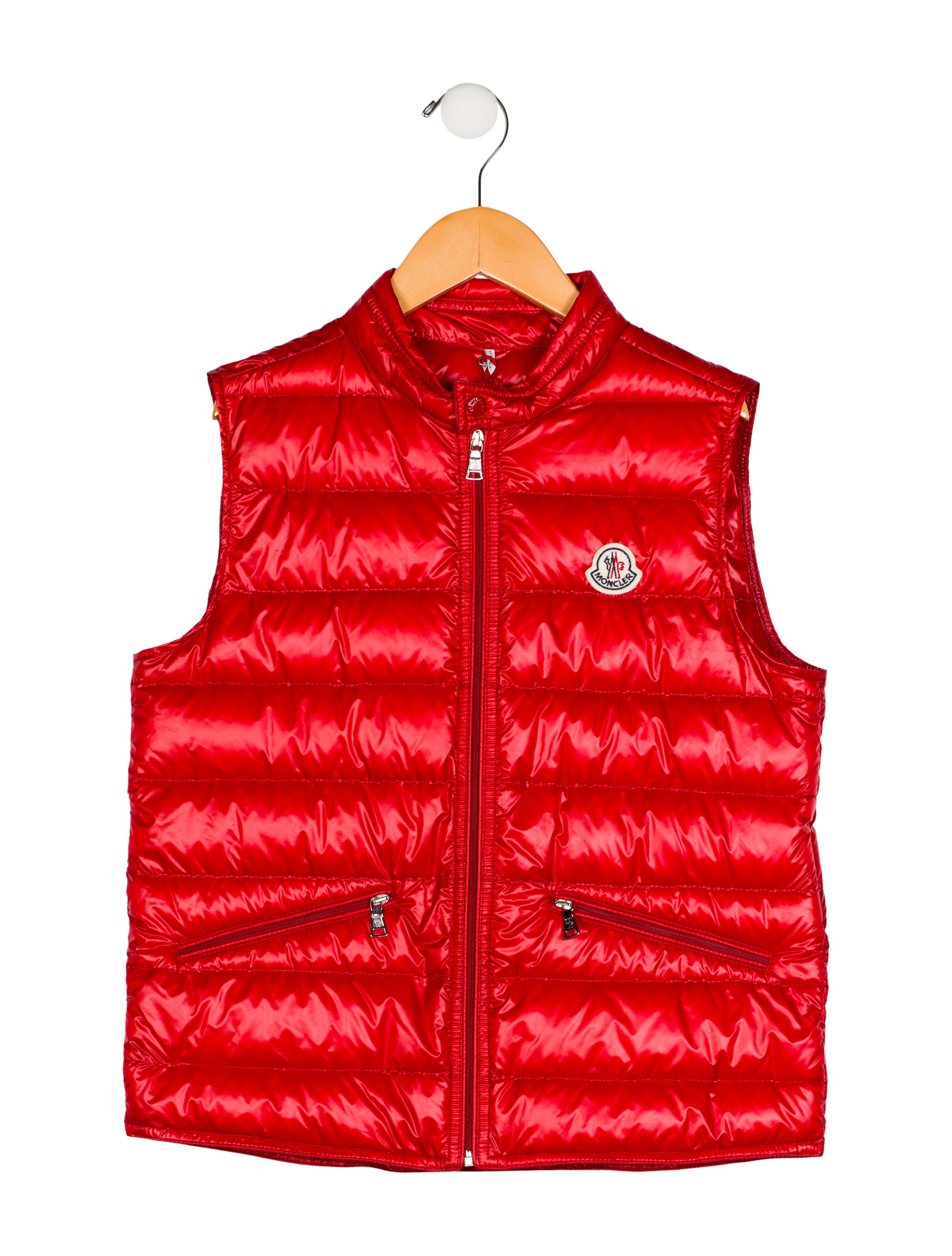 5c844485805f Moncler Boys  Gui Puffer Vest - Boys - MOC27435