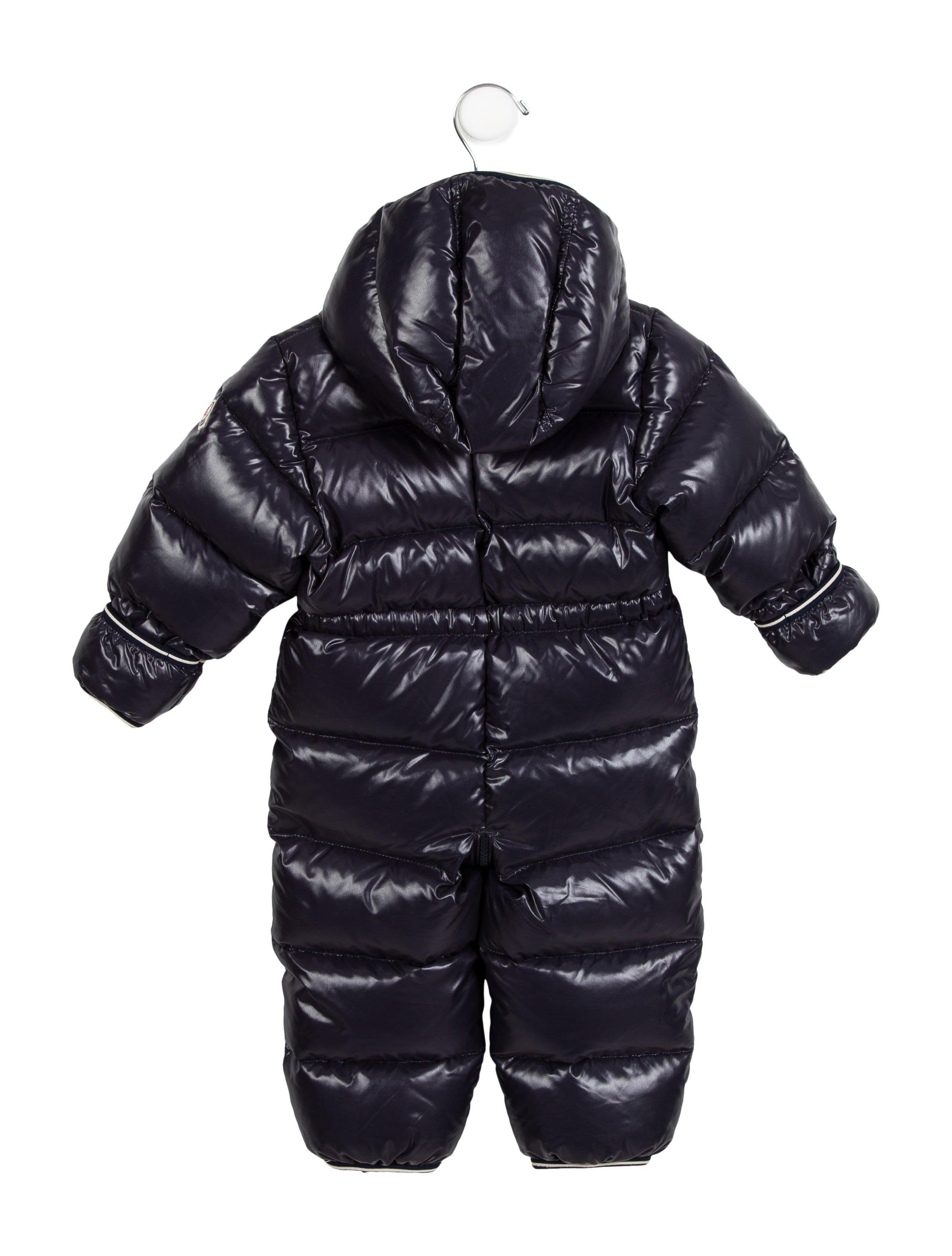 moncler kids snowsuit
