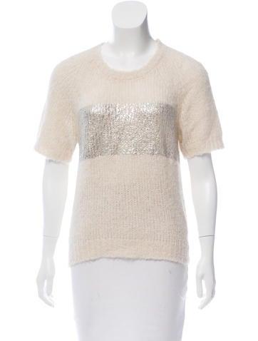 Moncler Striped Alpaca Sweater None