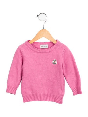 Moncler Girls' Knit Wool-Blend Sweater None