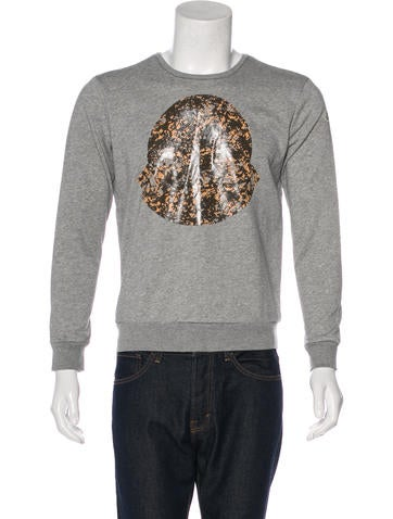 Moncler Logo Graphic Sweatshirt w/ Tags None