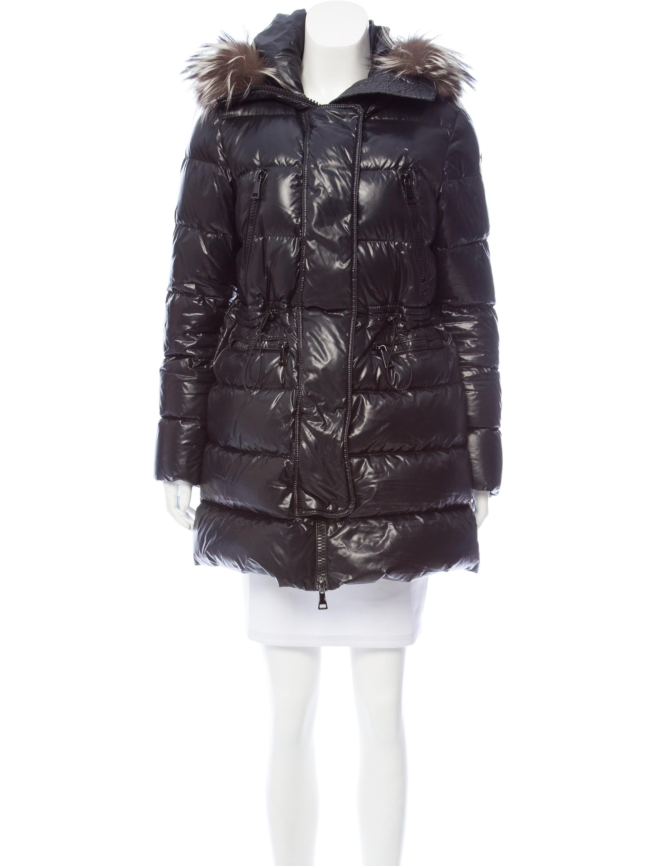 Aphrotiti Fur-Trimmed Puffer Coat